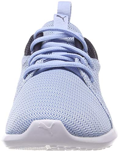 Bleu cerulean peacoat puma Jr Compétition Chaussures Running Enfant White Carson 2 12 De Puma Mixte PHn7Bzvwq