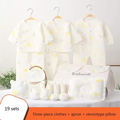 CMDDYY Ropa de bebé, Set de Regalo de algodón recién Nacido ...