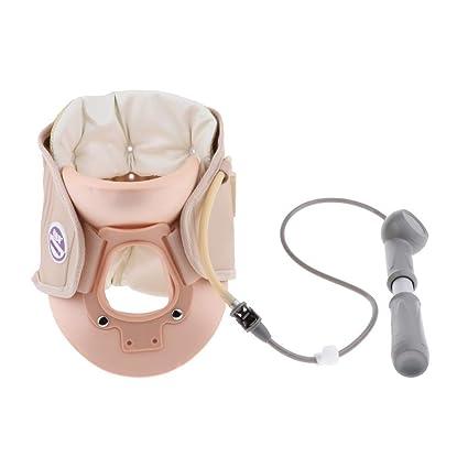 Tubayia - Collarín hinchable ajustable con corrector de cervical ...