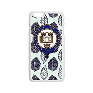 "Durable Platic Case Cover for iPhone6 4.7""-Oxford University Pattern Printed Cell Phones Shell"