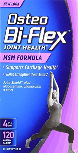 Osteo Bi-Flex with MSM Caplets 120 CP - Buy Packs and SAVE (Pack of 3) by Sundown