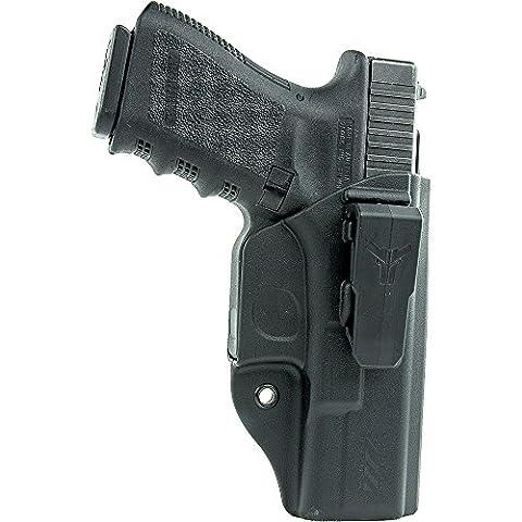 Blade-Tech Industries Klipt Glock 19 IWB Holster, Black, Right - Blade Tech Belt Holster