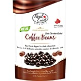 Real Earth BOUNTY Dark Chocolate Coffee Beans, 85g