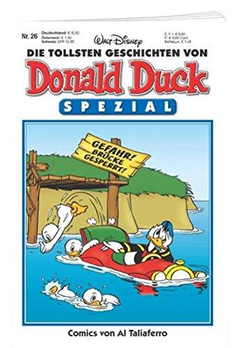 Die tollsten Geschichten von Donald Duck - Spezial Nr. 26: Comics von Al Taliaferro Taschenbuch – 24. August 2017 Disney Egmont Ehapa Media 3841370268 Comic / Humor