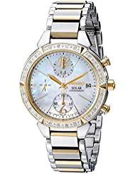 Seiko Womens SSC866 Solar Two-Tone Stainless Steel Watch
