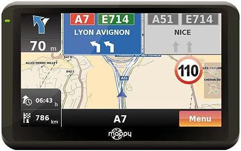 MAPPY Ulti E508ND - Mapas de Europa gratuitos (importado): Amazon.es: Electrónica