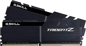 G.SKILL 32GB (2 x 16GB) TridentZ Series DDR4 PC4-32000 4000Mhz Intel Z370 Desktop Memory Model F4-4000C19D-32GTZKK