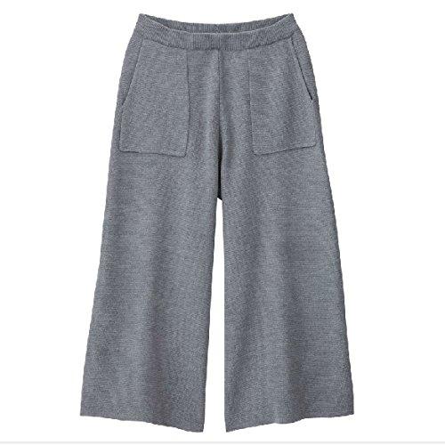 3 Pantaloni Puro Lavoratia Maglia Grigio Donna Acvip Colori d6EwqxXXn