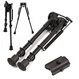 quad dietary supplement - Hiquty 20mm Adjustable Stud Spring 9 inch Bipod Picatinny Rail With Standard Rail Mount