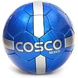 Cosco Mexico Football, Size 5  (White/Blue)