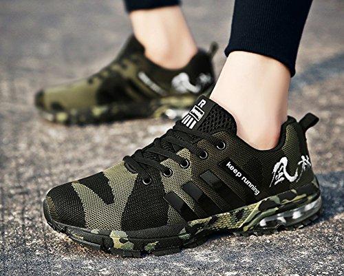Green Jogging Athletic Walking Men's Outdoor Shoes Sneaker Casual Women's JiYe Fashion fUxgvw7qf