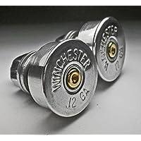 12 Gauge Shotgun Nickel Winchester Motorcycle License Plate Bolts