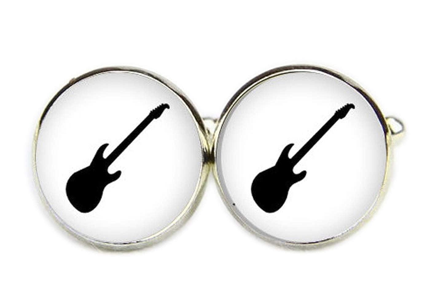 Gemelos personalizados para guitarra, gemelos de música: Amazon.es ...