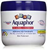 Aquaphor Baby Healing Ointment Diaper Rash and Dry Skin Protectant, Economy Pack (6 Pack-14 Ounce Each)