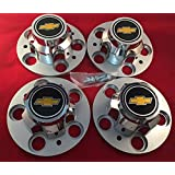 "Replacement Chevrolet Chevy GMC Truck 5 Lug 15"" 15x8 15x7 Rally Wheel Center HUB CAPS New"
