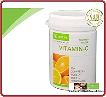 neolife liberación sostenida vitamina C (120 pestañas controlled-release vitamina C contiene Rose Extracto
