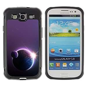 LASTONE PHONE CASE / Suave Silicona Caso Carcasa de Caucho Funda para Samsung Galaxy S3 I9300 / Planets Sun Art Star Row Space Universe Cosmos