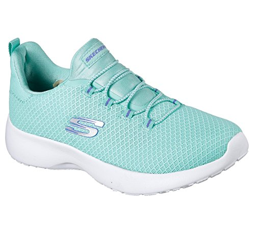 Skechers Dynamight Womens Slip On Sneakers Turquoise 10