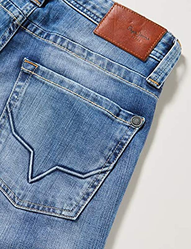 Pepe Jeans Dżinsy męskie Pepe Jeans, 11Oz Streaky Vintage Used, 32W / 36L: Odzież