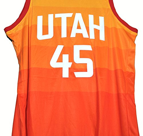 official photos a9835 b27ac Donovan Mitchell Utah Jazz Signed Autographed City Edition #45 Jersey PAAS  COA
