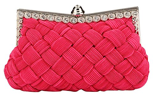Rose Rose Sacoches femme Drasawee rouge W47YqnTS