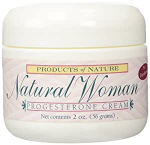 Natural Woman Progesterone Cream By Products of Nature -2oz
