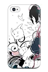 Awesome Design Animal Ears Blue Blush Clouds Drforesuto Game Cg Goggles Otomimi Infinity Sky Tail Thighhighs Tie White Hard Case Cover For Iphone 6 Plus