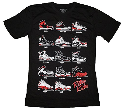 Evolution Flight Jordans Retro T Shirt product image