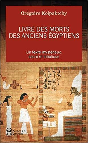 Amazon Fr Livre Des Morts Des Anciens Egyptiens Gregoire