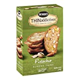 Nonni's THINaddictives Almond Thins Pistachio 4.44 oz (Pack of 18)