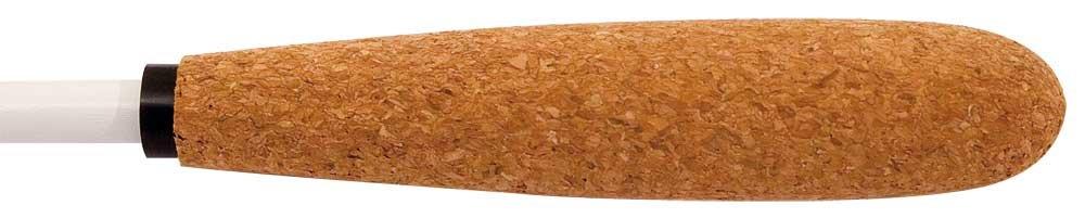 King David 12WTCK Baguette de direction avec manche en forme de poire en liège 30 cm Wexler