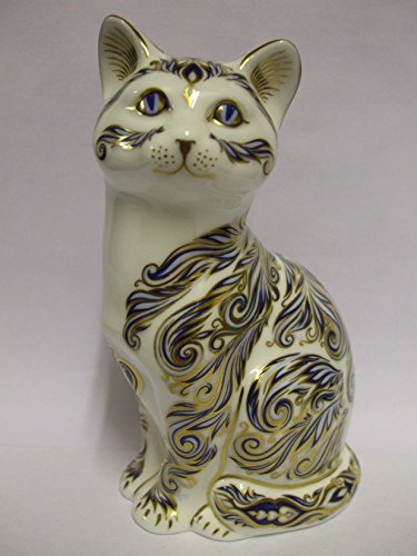 Royal Crown Derby MAJESTIC CAT - COLLECTORS GUILD EVENT PIECE LIMITED EDITION 3500 WORLDWIDE retired - RARE (Royal Derby Crown Collectibles)