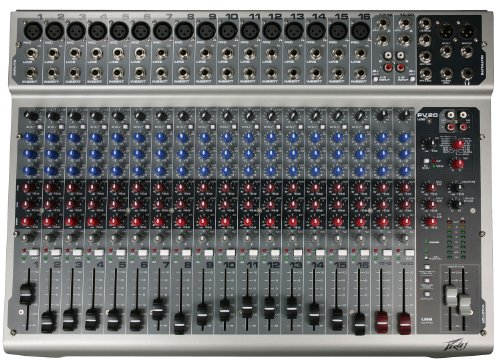 Peavey PV20 USB 20 Channel Mixing - Series Drums Discrete