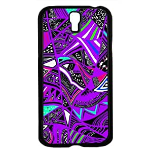 Tribal Print Pattern Purple Colorful Hard Snap on Phone Case (Galaxy s4 sIV)
