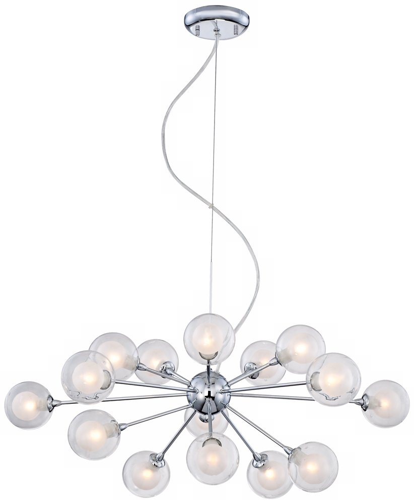 possini euro design lighting. Possini Euro Design Glass Sphere 15-Light Pendant Chandelier - Amazon.com Lighting