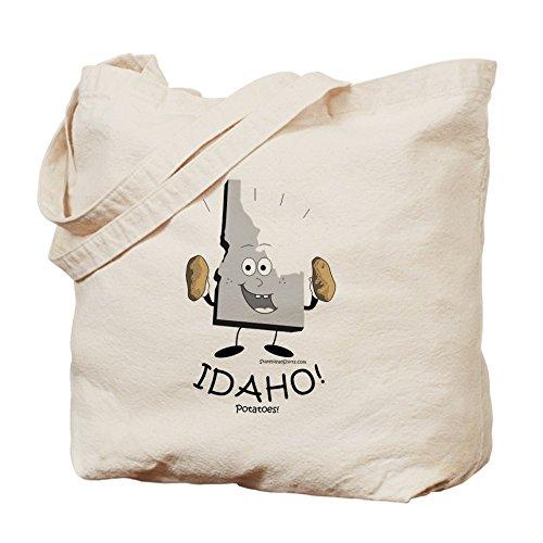 CafePress–Idaho _ patatas–Gamuza de bolsa de lona bolsa, bolsa de la compra