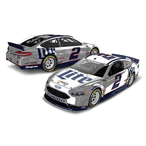 Lionel Racing Brad Keselowski #2 Miller Lite 2016 Ford Fusion NASCAR Color Chrome 1:24 Scale Diecast (Chrome Diecast Car)