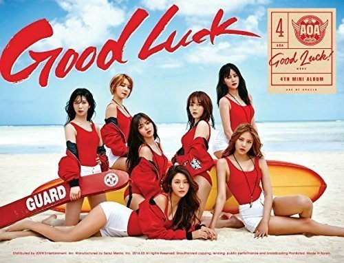 CD : Aoa - Good Luck - Week (A Version) (Asia - Import)