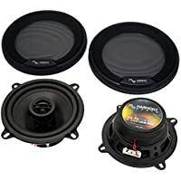 Harmony Audio HA-R5 Car Stereo Rhythm Series 5.25 Replacement 225W Speakers & Grills