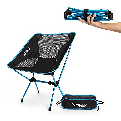 Fathers Day Gifts-Lightweight and Foldable Camp Chair, Portable, Breathable and Comfortable, Perfect for Hiking/Fishing/the Park/Sport