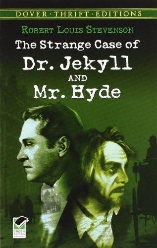 Book cover for Strange Case of Dr Jekyll and Mr Hyde