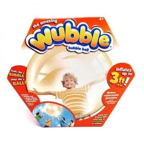 Nceonshop(TM) Wubble Bubble Ball Orange - No Pump New