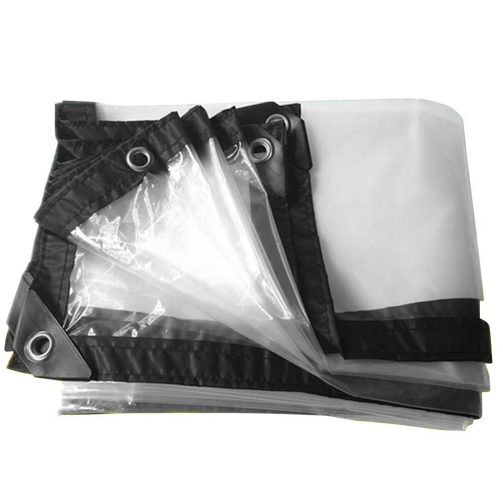 ポリエチレンPE透明防雨布農業用温室フィルム両面防水防水シート。 (サイズ さいず : 3×8m) B07RSG5TXR  3×8m