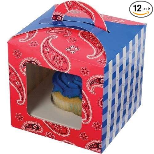 Bandana Cupcake Box