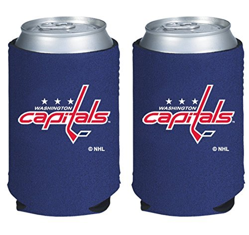 fan products of NHL Hockey 2014 Team Color Logo  Holder  Cooler 2-Pack (Washington Capitals)