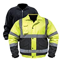 NorthernTool.com deals on Utility Pro Men's Class 3 High Visibility 3-in-1 Bomber Jacket
