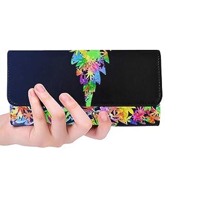 Amazon.com: Bolsa de mano con diseño de hojas de marihuana ...