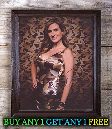 Korie Robertson Duck Dynasty Autographed Signed Reprint 8x10 Photo #19 Special Unique Gifts Ideas for Him Her Best Friends Birthday Christmas Xmas Valentines Anniversary Fathers Mothers Day - Robertson Signed Photo