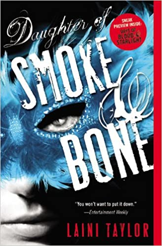 Image result for daughter of smoke and bone book cover