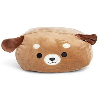 "Squishmallows Kellytoy 8"" Puppy Dog Stackable Squad Plush Soft Pillow Brown: Kitchen & Dining"